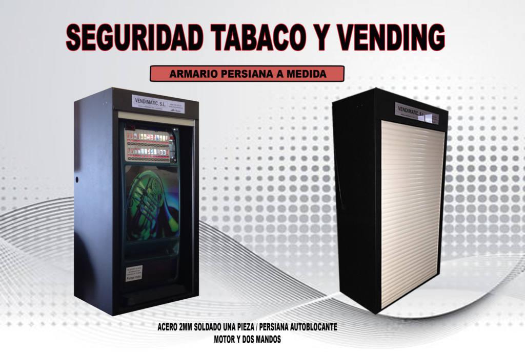 Armario de seguridad antirrobo con persiana para máquina de tabaco o recrrativas