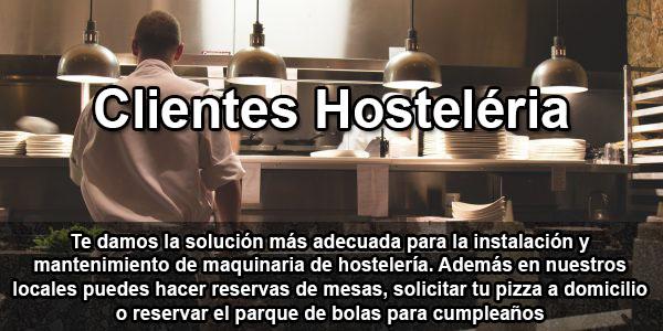 clientes de hosteleria, cafeterias y pizzerias