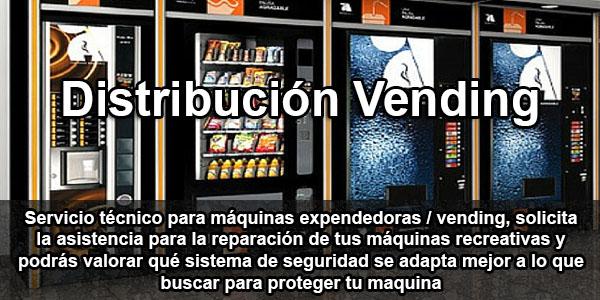 clientes distribucion vending y servicio tecnico