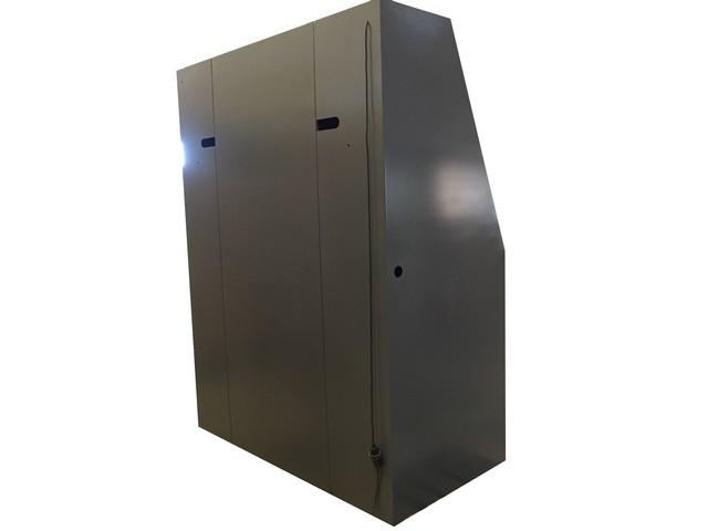 Armario de seguridad con persiana doble (3)