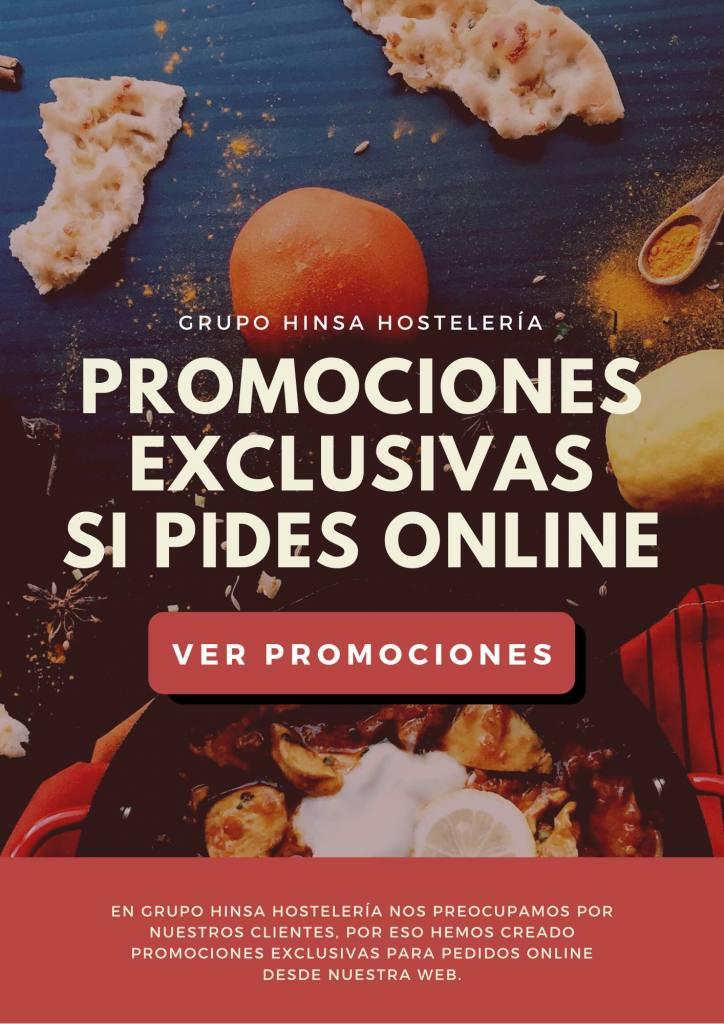 Promociones exclusivas hostelería pedido online